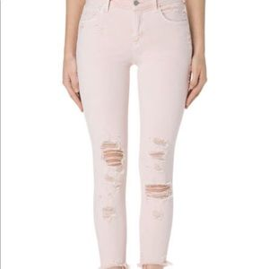 J Brand Mid Rise Crop Jeans Size 28